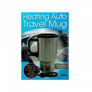 Stainless Steel Travel Car Coffee Heating Mug